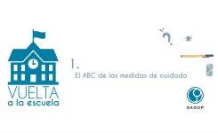 Vuelta a la escuela: El ABC de las medidas de cuidado