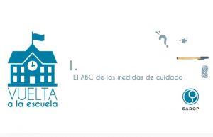 Lee más sobre el artículo Vuelta a la escuela: El ABC de las medidas de cuidado