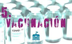 Vuelta a la escuela: Vacunación