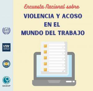 Lee más sobre el artículo Encuesta Nacional sobre Violencia y Acoso en el Mundo del Trabajo